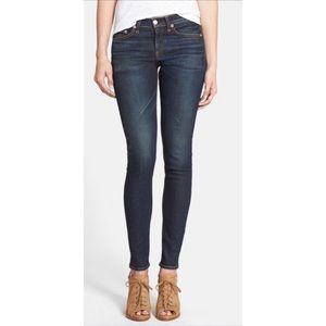 Rag & Bone high rise skinny jeans in Chaucer